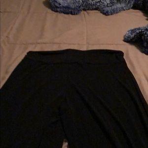 Lg honey and lace Pallazo pants